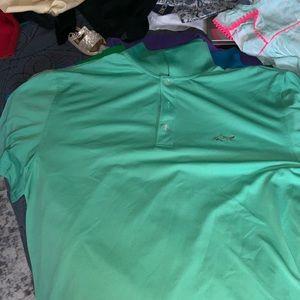 Greg Norman Collection Short Sleeve Golf Polo